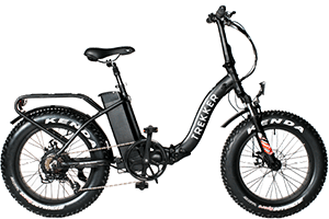 trekker foldable electric bike
